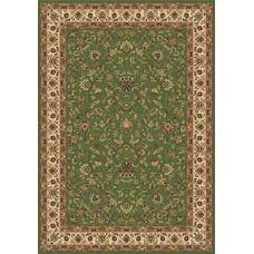 Ковер классический прямоугольный Buhara (Бухара) 5471 Green Merinos (Меринос) российского производства