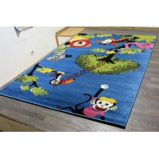 "Детский ковер CRYSTAL 2170 Blue ""Африка"" Merinos"