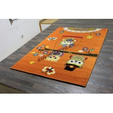 """Детский ковер CRYSTAL 2740 Orange """"Совы"""" Merinos"""