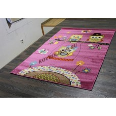 "Детский ковер CRYSTAL 2740 Purple ""Совы"" Merinos"