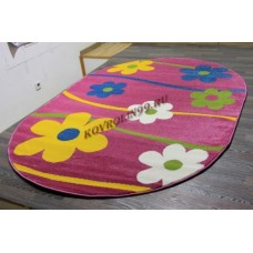 "Детский ковер Crystal 1021 Purple ov ""Ромашки"" Merinos"