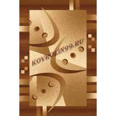 Современный прямоугольный ковер D089 Beige-Brown Da Vinci российского производства из хит-сета