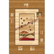 Современный прямоугольный ковер 5409 Beige Da Vinci российского производства из хит-сета