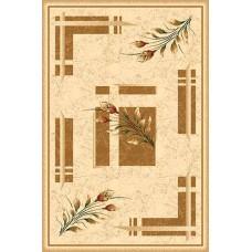 Современный прямоугольный ковер 5442 Cream Da Vinci российского производства из хит-сета
