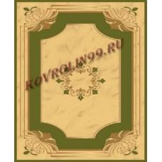 Ковры Империал карвинг 0883_green Roza Турецкие