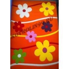 Ковры Империал карвинг 4745_orange Roza Турецкие