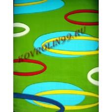 Ковры Империал карвинг 1396_green Roza Турецкие