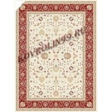 Иранские ковры Ковер 0501c-cream-red Mashhad Ardenal carpet Co