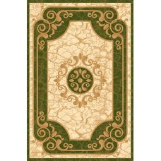 Ковер D045 Green Kamea Carving (Камея Карвинг) Merinos