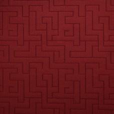 Ковролин петлевой Береза 535 Бордовый с мягким рельефным ворсом по рисунку