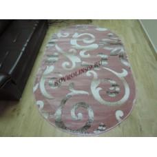 Ковры Pasa carving 1491a_pink_ov Турецкие