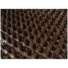 Щетинистое покрытие Дорожка тёмный шоколад 137