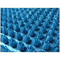 Щетинистое покрытие Дорожка синий металлик