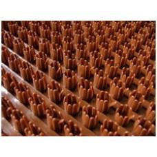 Щетинистое покрытие Дорожка коричневый 135