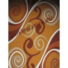 Ковры Суздаль 1121_orange Merinos Турецкие