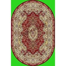 Ковры TABRIZ 3056A_RED_OV Royal Турецкие