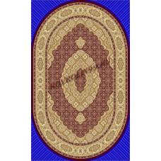 Ковры TAJMAHAL 3314A_BORDO-ov Emirhan carpet Турецкие