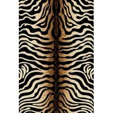 Ковер D053 black Vision Deluxe carving (Визион Делюкс) Merinos