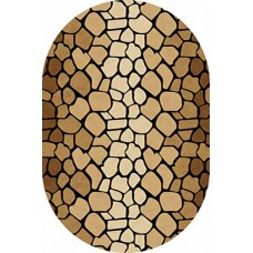 Ковер D046 Beige-ov Vision Deluxe carving (Визион Делюкс) Merinos