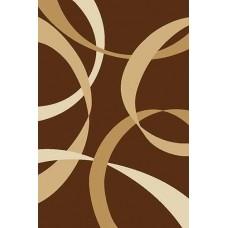 Ковер V801 Brown Vision Deluxe carving (Визион Делюкс) Merinos