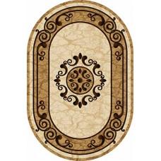 Ковер D045 Cream-ov Vision Deluxe carving (Визион Делюкс) Merinos