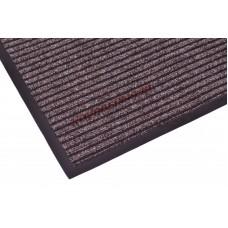 Ребристые коврик Doormat коричневый