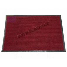 Ребристые коврик Doormat красный