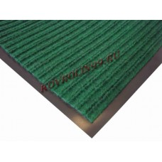 Ребристые коврик Doormat зеленый