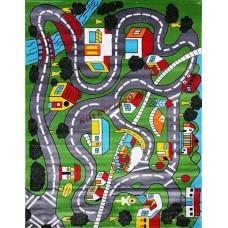 Детские ковры(турция) s0086a green green Турецкие