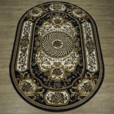 Ковер классический овальный Акварель 20685-22144-ov БелКа российского производства